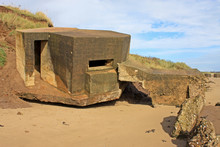 Ruins Of Concrete Bunker