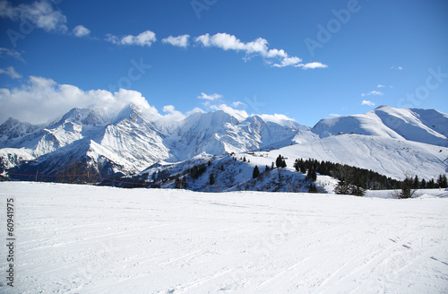 Canvastavla alpes