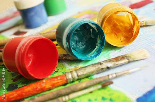 Fotografia Painters brushes