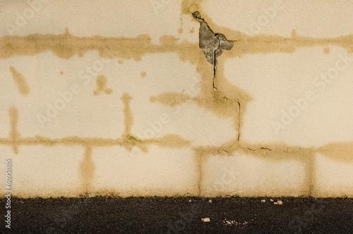 Photographie Hintergrund Pfusch am Bau