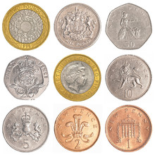 England Circulating Coins Coll...
