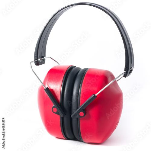 Fotografia, Obraz  red earmuffs