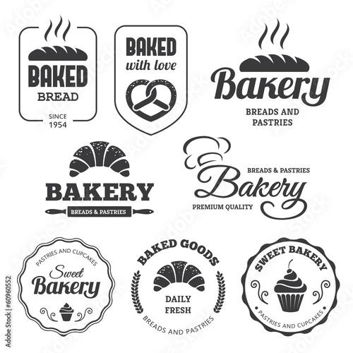 Fotografie, Obraz  Bakery labels 2