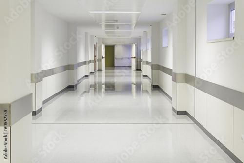 Fotografie, Tablou  Entry empty hospital