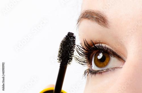 Valokuva  Woman eye with mascara