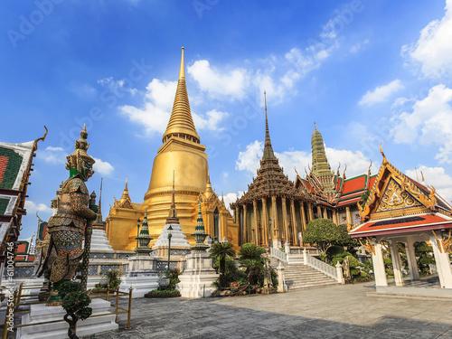 Poster Bangkok Wat Phrakaew Temple, Bangkok, Thailand