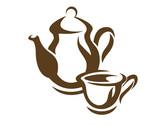 Teapot and teacup