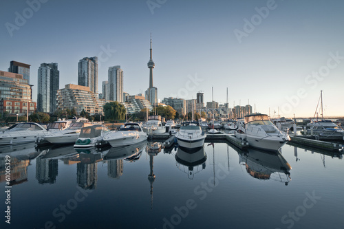 Spoed Foto op Canvas Canada Yacht Club in downtown Toronto