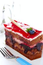 Cake With Jam B