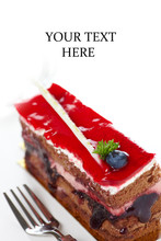 Cake With Jam C