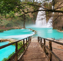 Plakat Waterfall in Mexico