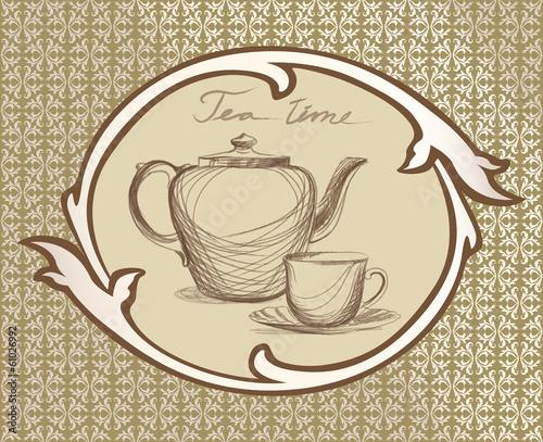wzor-herbaty-vintage