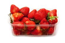 Box Or Punnet Of Strawberries