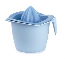 Blue Plastic Citrus Squeezer
