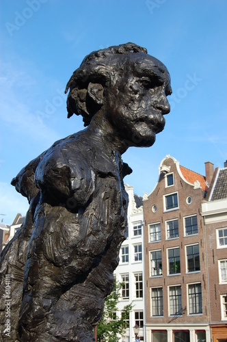 Photo  Albert Einstein, Amsterdam