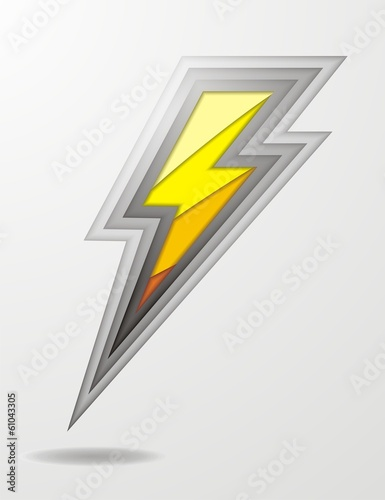 Garden Poster Cartoon cars lightning bolt icon