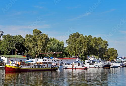 Fotografia, Obraz  port de tourisme fluvial