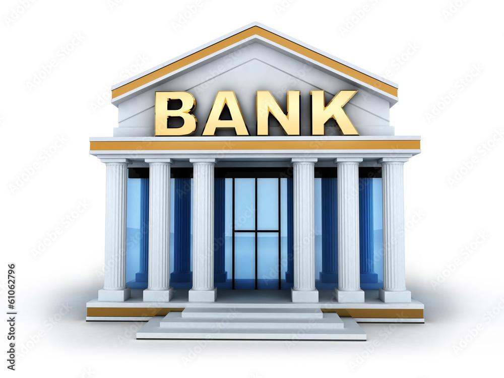 Fototapeta Build bank