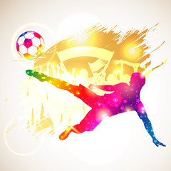 FototapetaSoccer Player