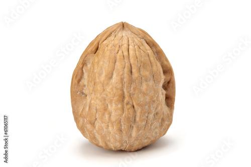Fotografía  isolated walnut on white background