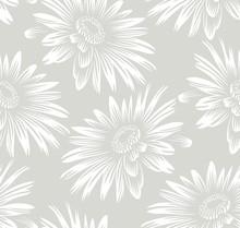 Seamless Sunflower Wallpaper