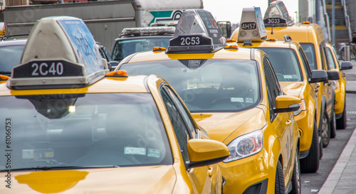 Papiers peints New York TAXI New York city taxis