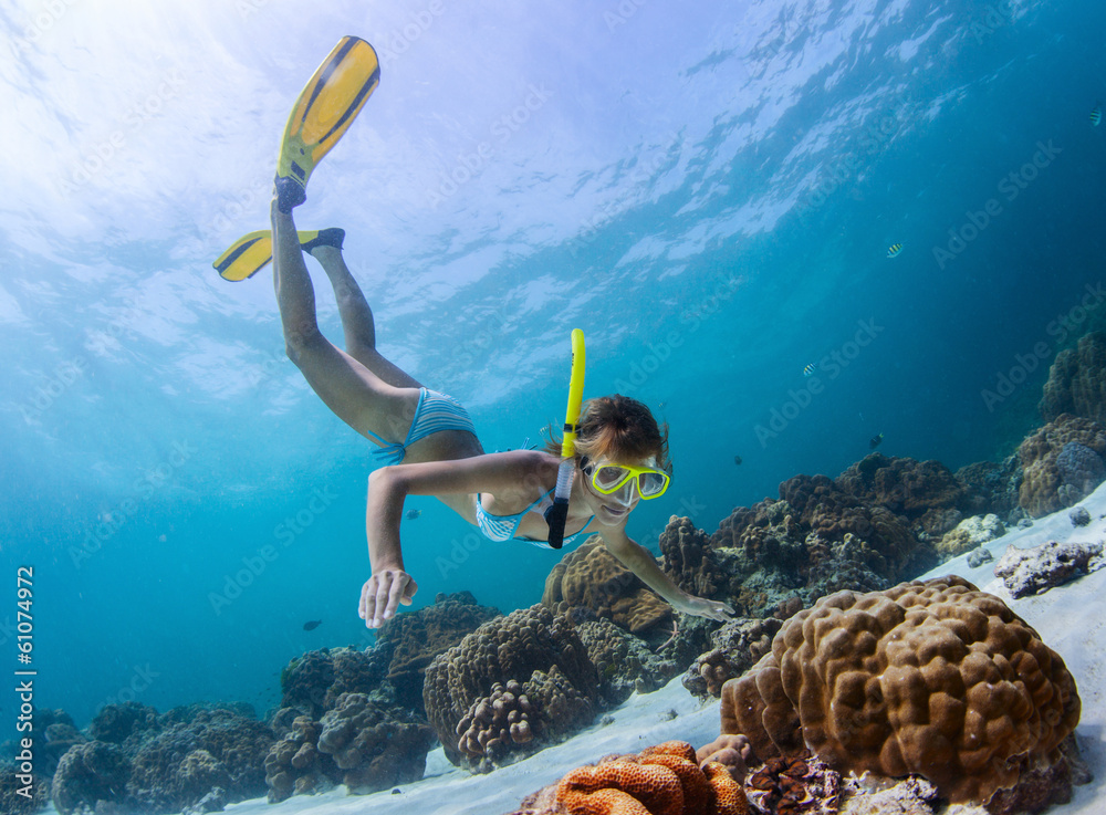 Fototapeta Snorkeling