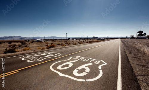 Poster Route 66 Famous Route 66