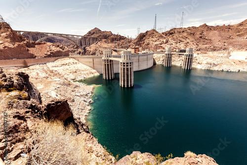 Deurstickers Dam Hoover Dam