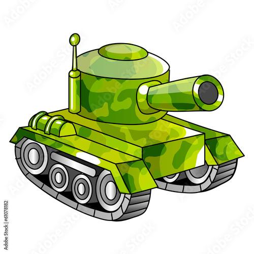 zielony-czolg