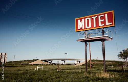 Papiers peints Route 66 Old motel sign on Route 66