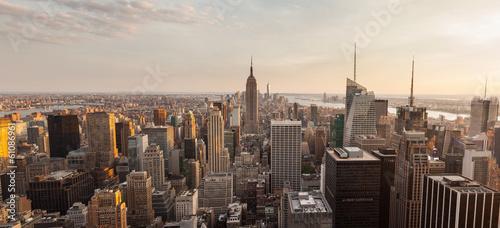 Poster New York New York City Panorama