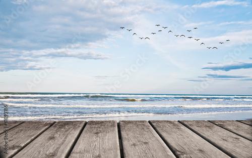 un dia en la playa tropical