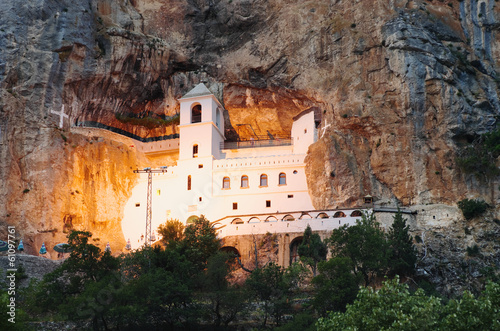 Ostrog Monastery By Night, Montenegro