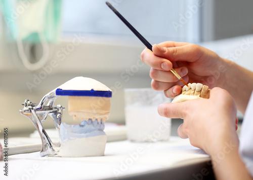 Obraz na plátne dental dentist objects