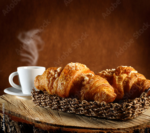 Wall Murals Cafe Croissant