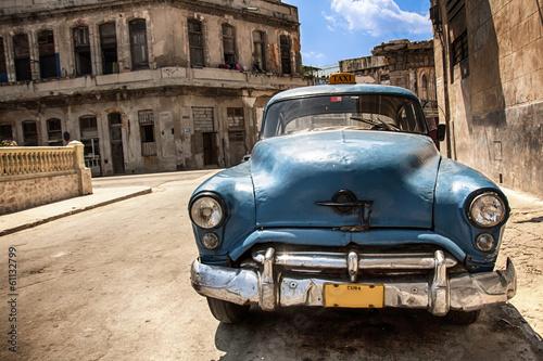 Türaufkleber Autos aus Kuba Cuba Car