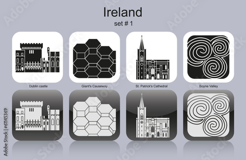 Icons of Ireland Poster