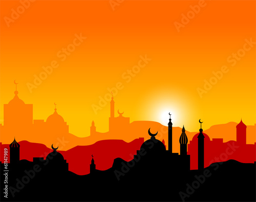 Fotografie, Obraz  Arabian Sunset