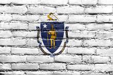 Massachusetts State Flag Paint...