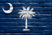 South Carolina State Flag Pain...
