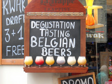 Restaurante De Cerveza Belga,muestra De Cerveza.
