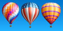 Hot Air Balloons Set Three