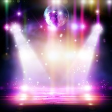 Abstract Disco Ball_Background...