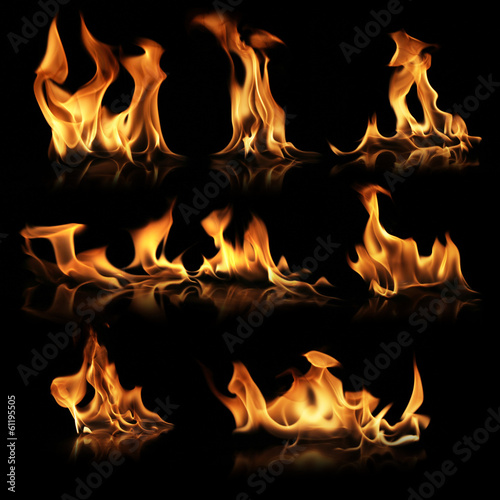 Canvas Prints Fire / Flame Fire collection