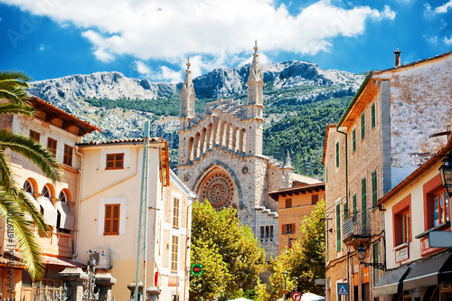 Foto View of Soller in Mallorca