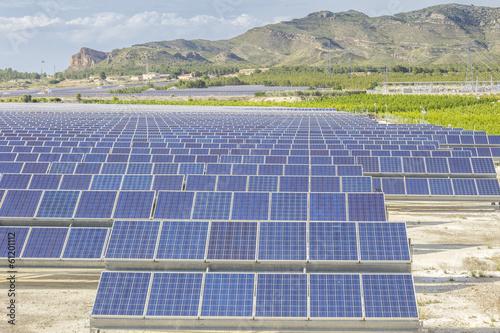 Fotografie, Obraz  Renewable energy- Solar energy