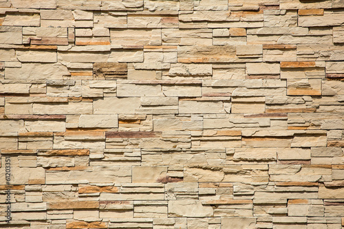 Decorative brick wall background