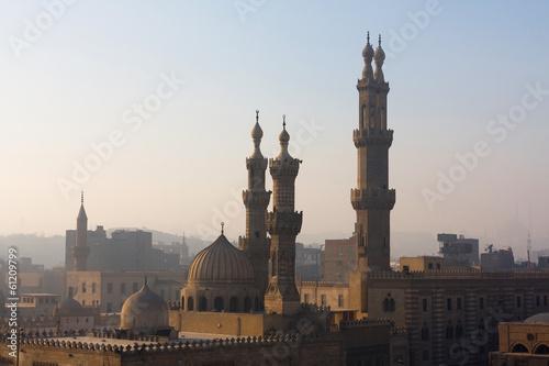 The minarets of Cairo, Egypt