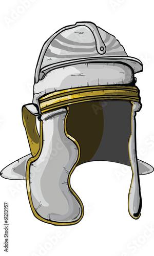 Roman Soldier Helmet Drawing